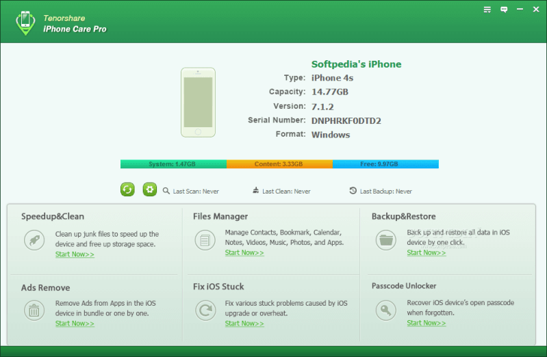 Tenorshare-iPhone-Care patch