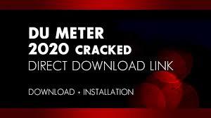 DU Meter 7.30 Crack Patch + Serial Key 2021 [latest]